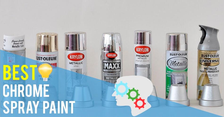 The Best Chrome Spray Paint