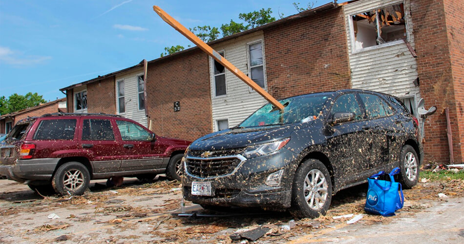 What Do I Do if My Vehicle is Damaged by a Tornado?